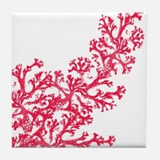 Funny Coral Tile Coaster