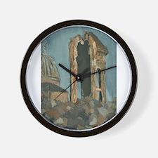 Choranbau und Akademie Wall Clock