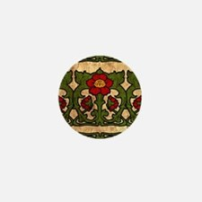 Unique Art nouveau Mini Button