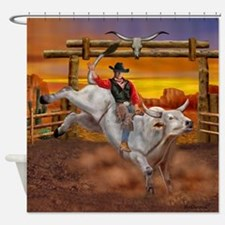Ride 'em Cowboy Shower Curtain