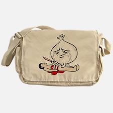 Cry Onion Messenger Bag