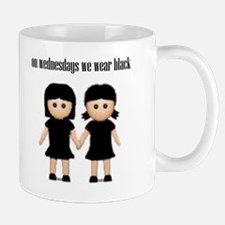 On Wednesdays, We Wear Black. Mug