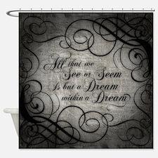 Cute Allen Shower Curtain
