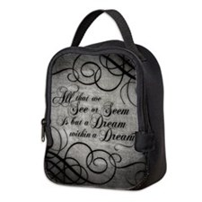 Cute Allen quote Neoprene Lunch Bag