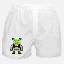 Pixel Shrek Boxer Shorts