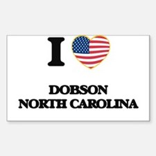 I love Dobson North Carolina Decal