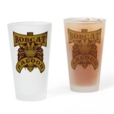 Bobcat Saloon Drinking Glass