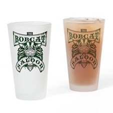 Bobcat Saloon Drinking Glass