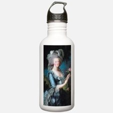 Funny Blue roses france shutters Water Bottle