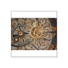 Astrological clockface Sticker