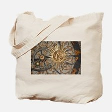 Astrological clockface Tote Bag