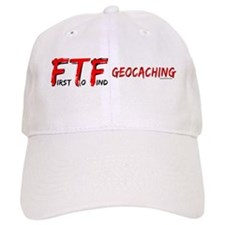 FTF geocaching Baseball Cap