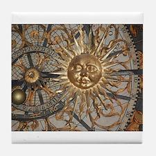 Astrological clockface Tile Coaster