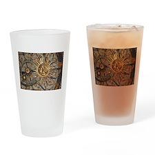 Astrological clockface Drinking Glass