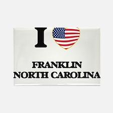 I love Franklin North Carolina Magnets