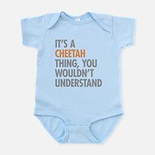 Cheetah Thing Body Suit