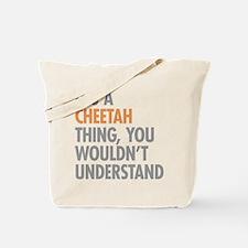 Cheetah Thing Tote Bag