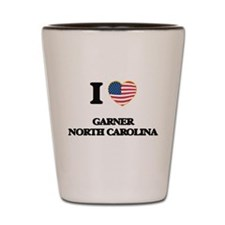 I love Garner North Carolina Shot Glass