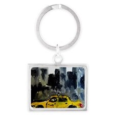 new york city Landscape Keychain
