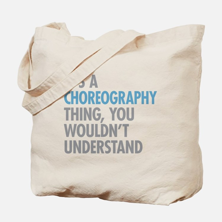 Choreography Tote Bag