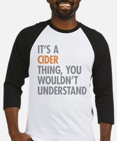 Cider Thing Baseball Jersey
