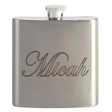 Gold Micah Flask