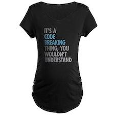 Code Breaking Thing T-Shirt