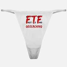 FTF Geocaching Classic Thong