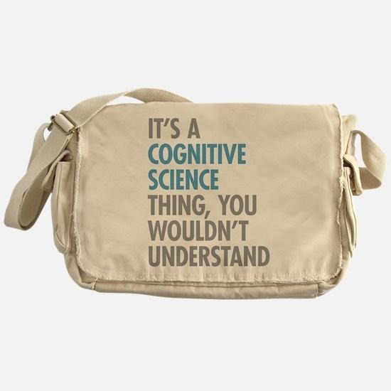 Cognitive Science Thing Messenger Bag