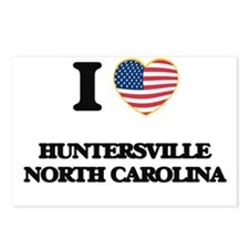 I love Huntersville North Postcards (Package of 8)
