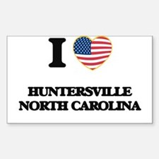 I love Huntersville North Carolina Decal