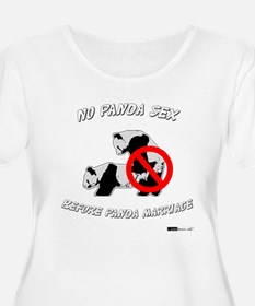No Panda Sex before Panda Mar T-Shirt