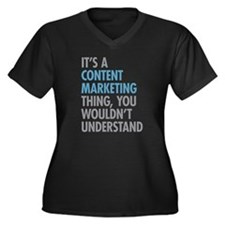 Content Marketing Thing Plus Size T-Shirt