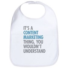 Content Marketing Thing Bib