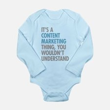Content Marketing Thing Body Suit