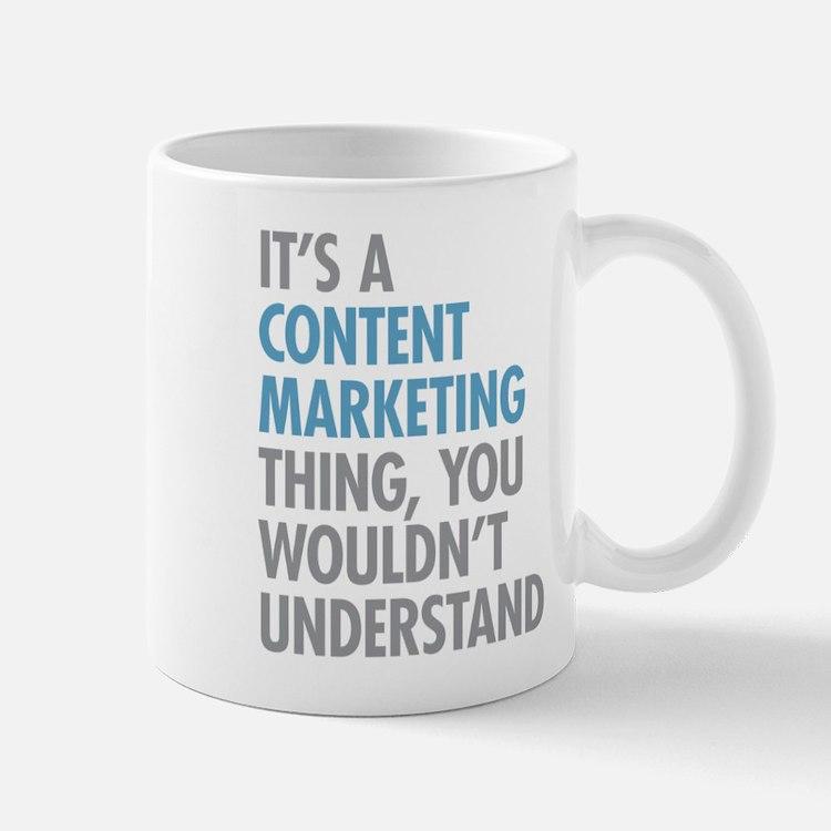 Content Marketing Thing Mugs