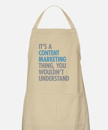 Content Marketing Thing Apron