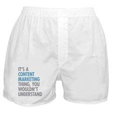 Content Marketing Thing Boxer Shorts