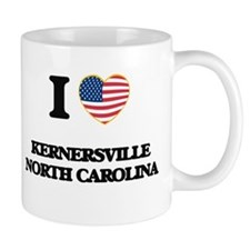 I love Kernersville North Carolina Mugs