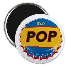 SODA POP Refrigerator Magnet