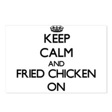 Keep Calm and Fried Chick Postcards (Package of 8)