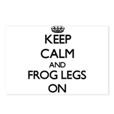 Keep Calm and Frog Legs O Postcards (Package of 8)