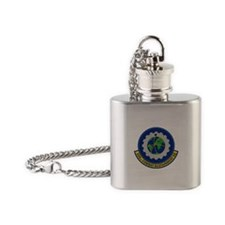 559th Combat Sustainment Squadron Flask Necklace