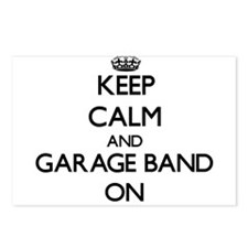 Keep Calm and Garage Band Postcards (Package of 8)