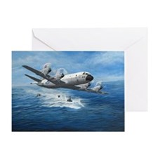 Us Navy P-3c Orion Greeting Cards