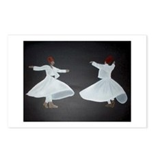 Whirling Dervishes Postcards (Package of 8)
