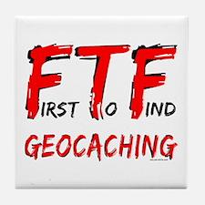 FTF Geocaching Tile Coaster