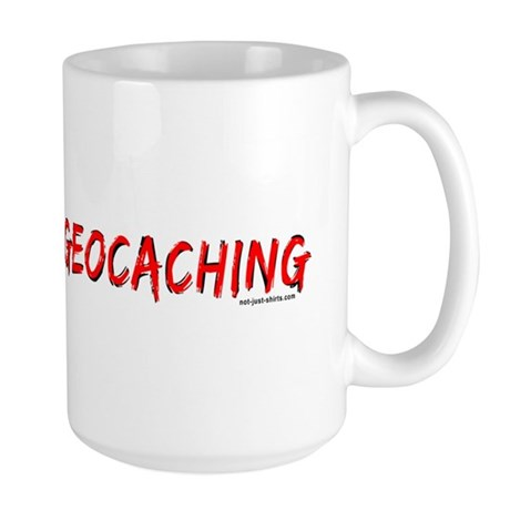 FTF Geocaching Large Mug
