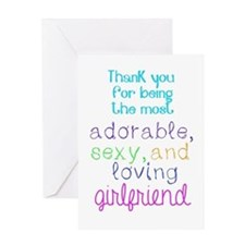 Thank You To Girlfriend From Both Greeting Cards