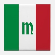 Team Italy Monogram Tile Coaster